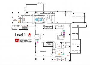 Level 1 Building Map